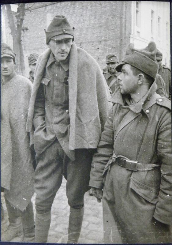Венгры (гонведы) военнопленные