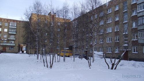 Фото города Инта №2973  Куратова 34, 36 и 38 01.02.2013_12:59