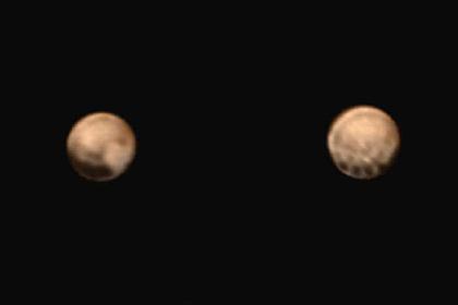 Станция New Horizons получила цветные фотографии Плутона— Последние новости науки— ученые NASA показали наилучшего качества