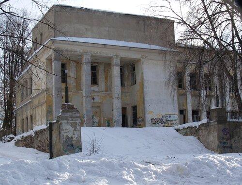 Заброшенный ДК ВНИИМС (института маслоделия)