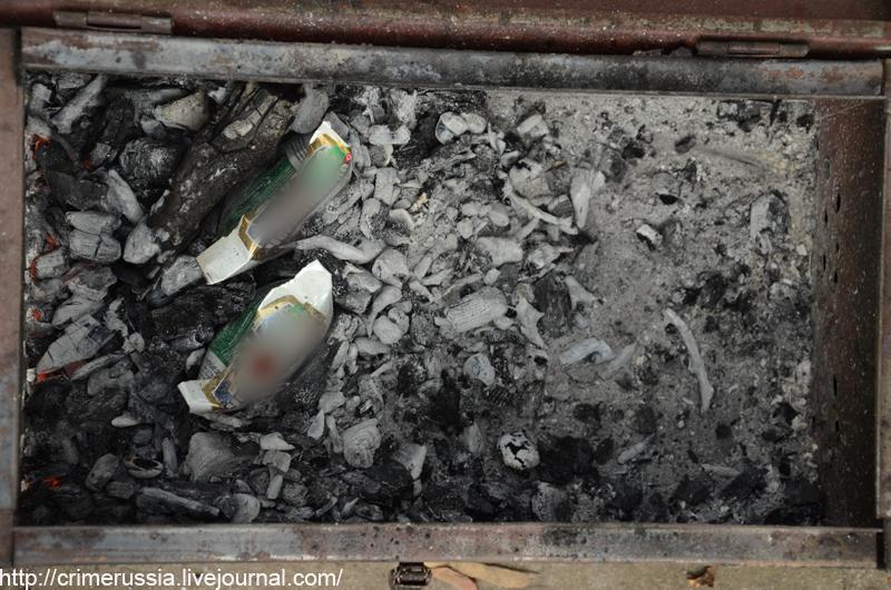 приготовление картошки в углях