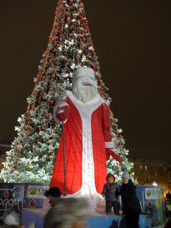 Дед Мороз - Чубакка