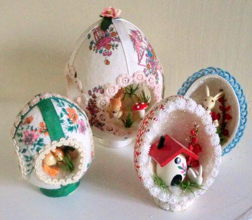 Диорамные сувенирные яйца