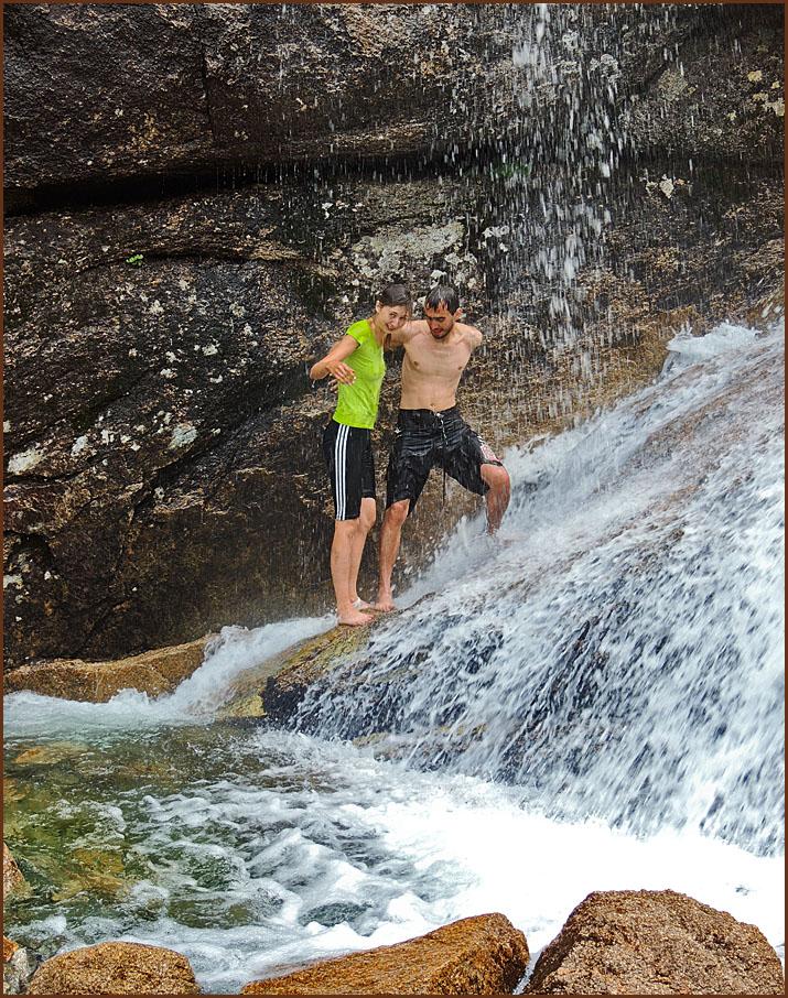 Купаться в водопадах