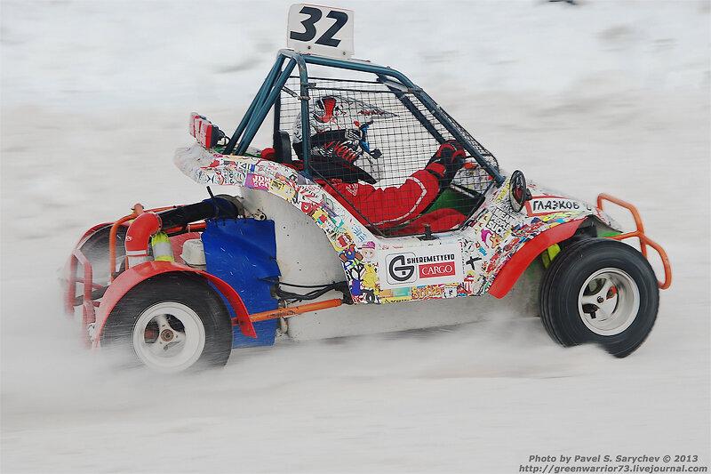 photo Pavel S. Sarychev racing cross snow winter фото автогонки автокросс дети зима снег трофей александра доронина