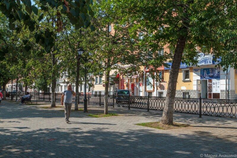 Бульвар Радищева, Тверь