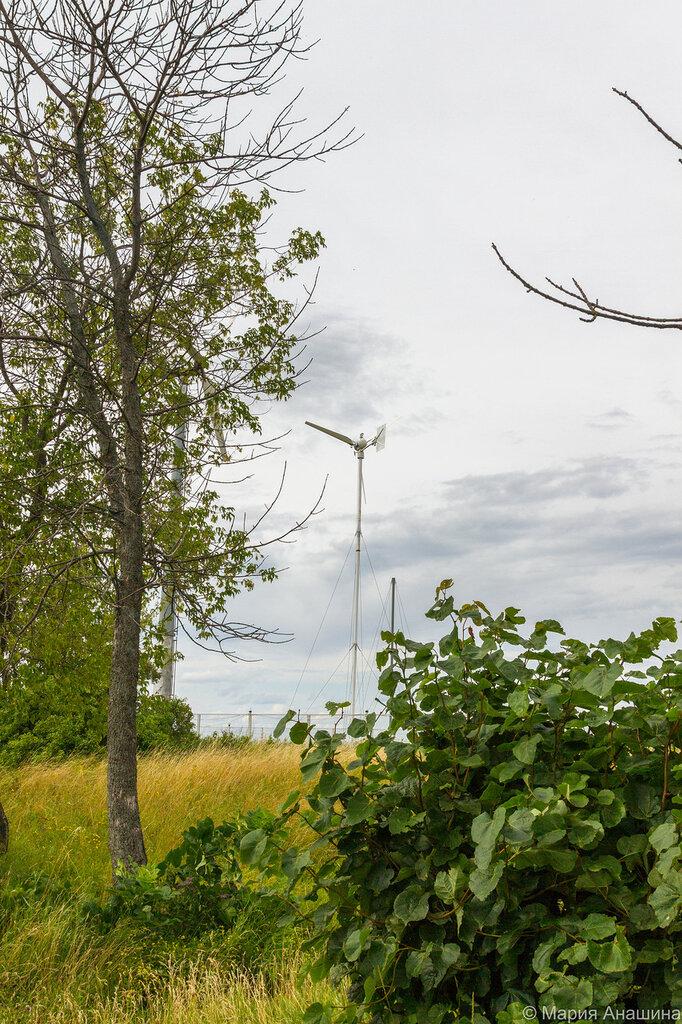 Дубненский ветрополигон, Дубна