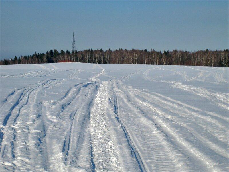 Триангуляционная вышка на Голенищевском поле