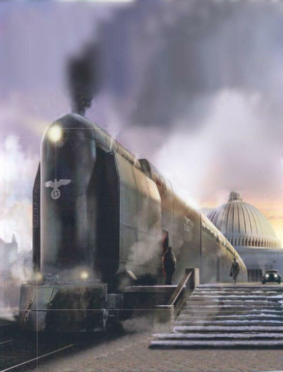 Breitspurbahn железная дорога для России - секрет, который скрыли от Сталина
