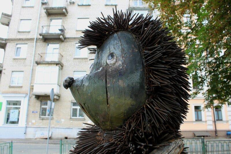 Ёжик в тумане киев скульптура
