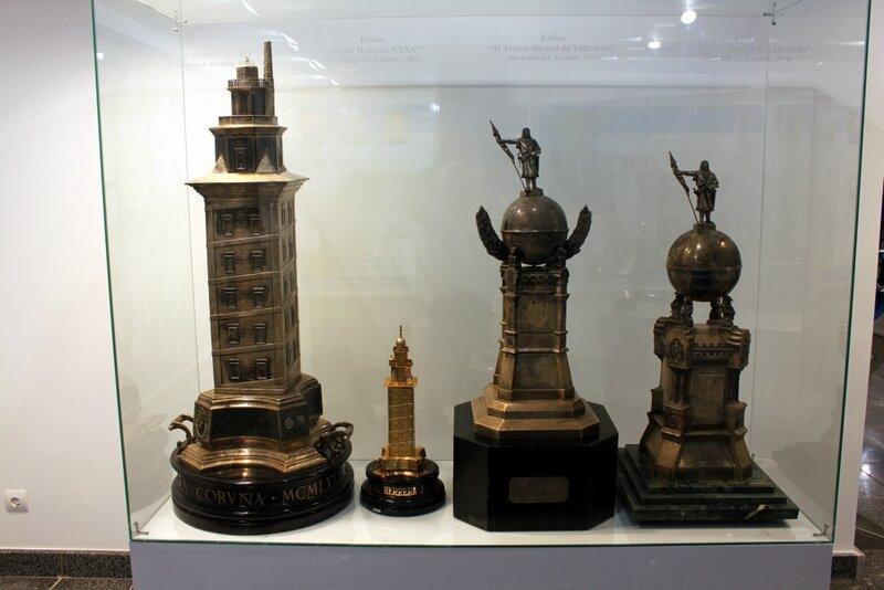 Кубки в музее Динамо Киев