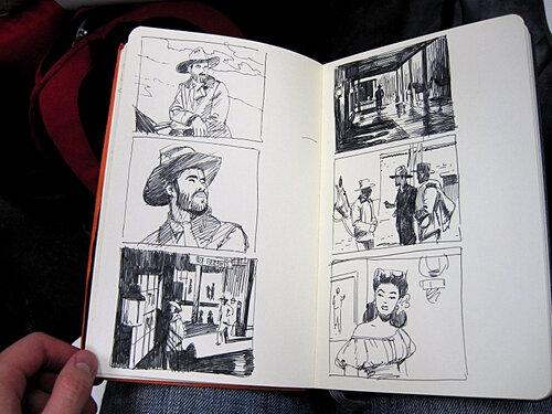 Встреча с Матье Бономом в Центре Комиксов
