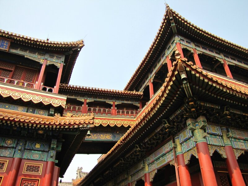 Храм Юнхегун в Пекине.