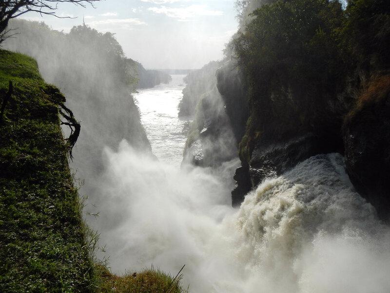 Murchison falls, Уганда