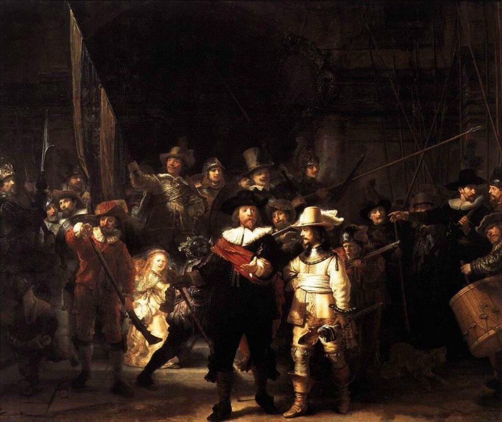 Рембрандта. Ночной дозор