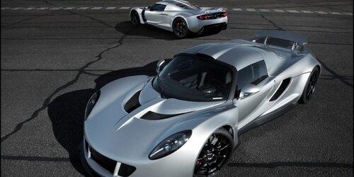 Суперкар Venom GT  в книге рекордов Гиннесса