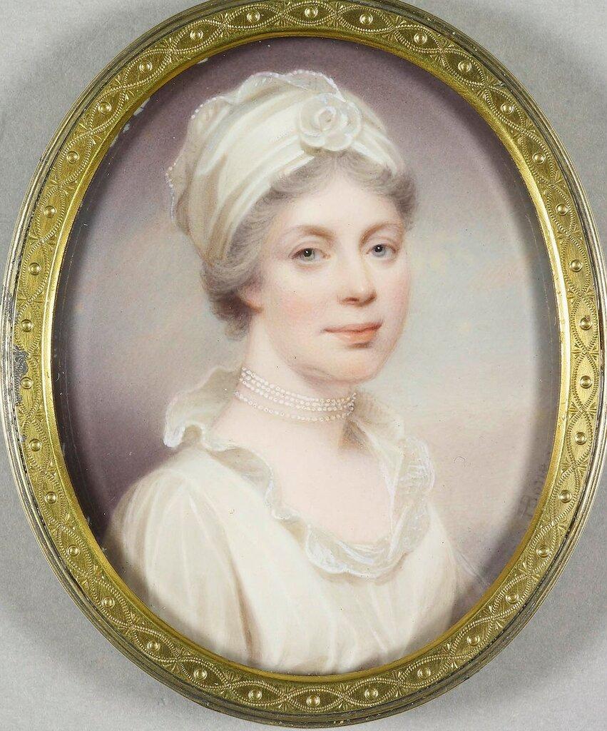 Королева Шарлотта (1744-1818)  Подпись и дата +1801