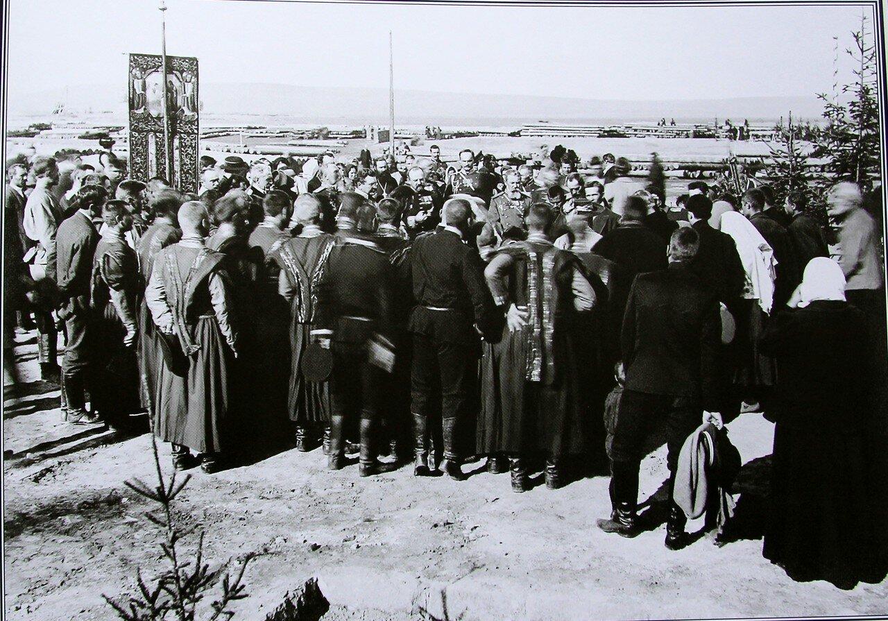 Освящение казарм в военном городке. 12 сентября 1910