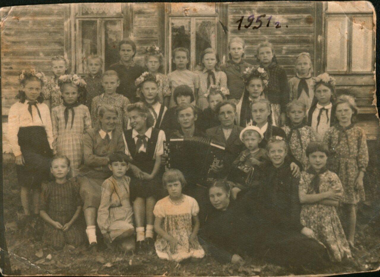 Урал. Село Завод Михайловский.1951 г.