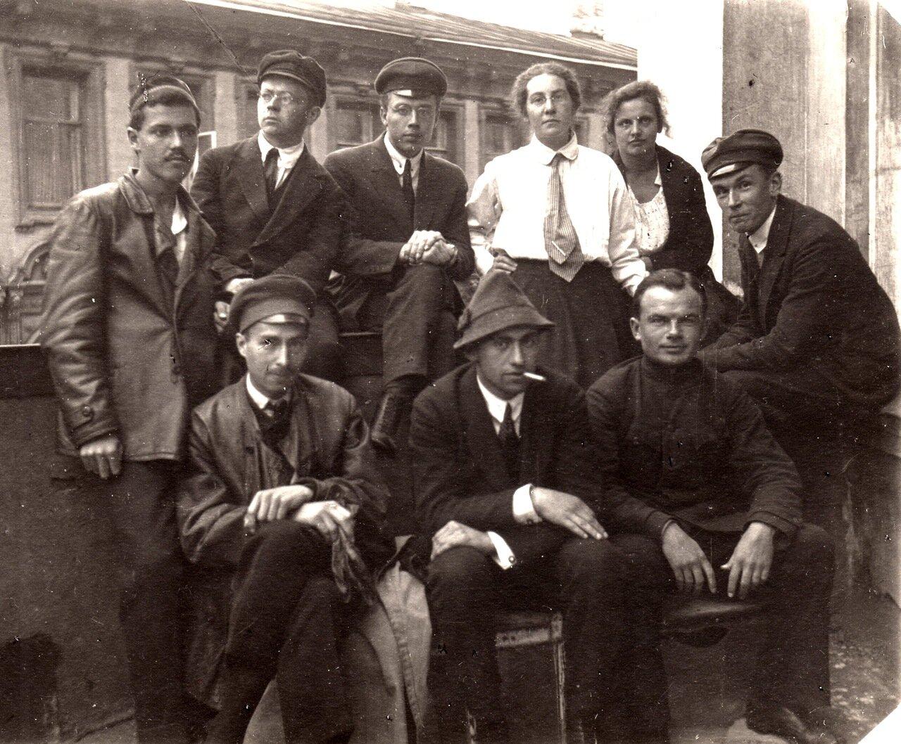 1923 г., 3 сентября, у Зоомузея МГУ