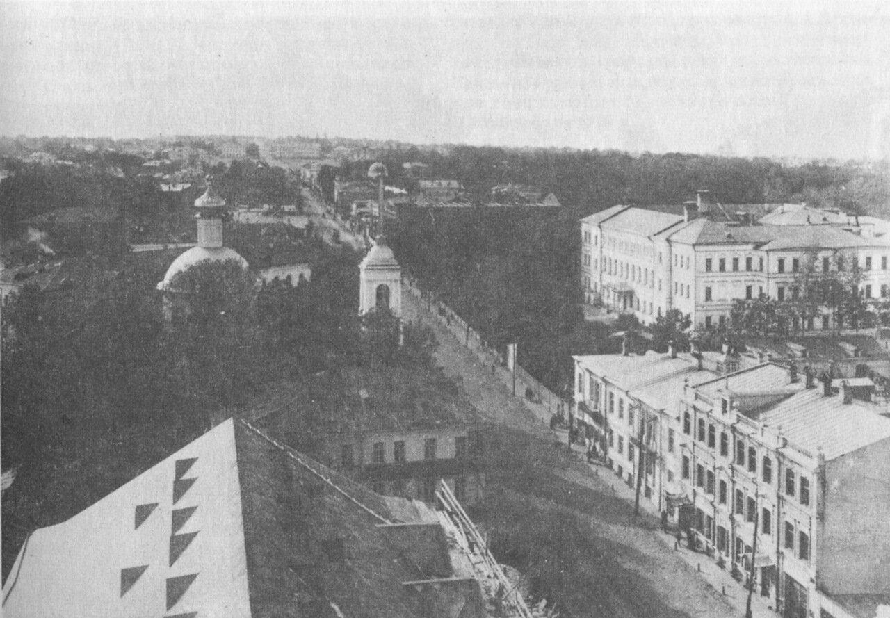 Большая Покровка с башни Государственного банка.
