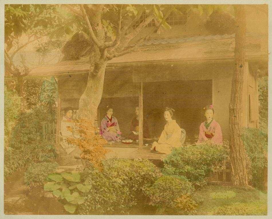 Чайное заведение в Киото