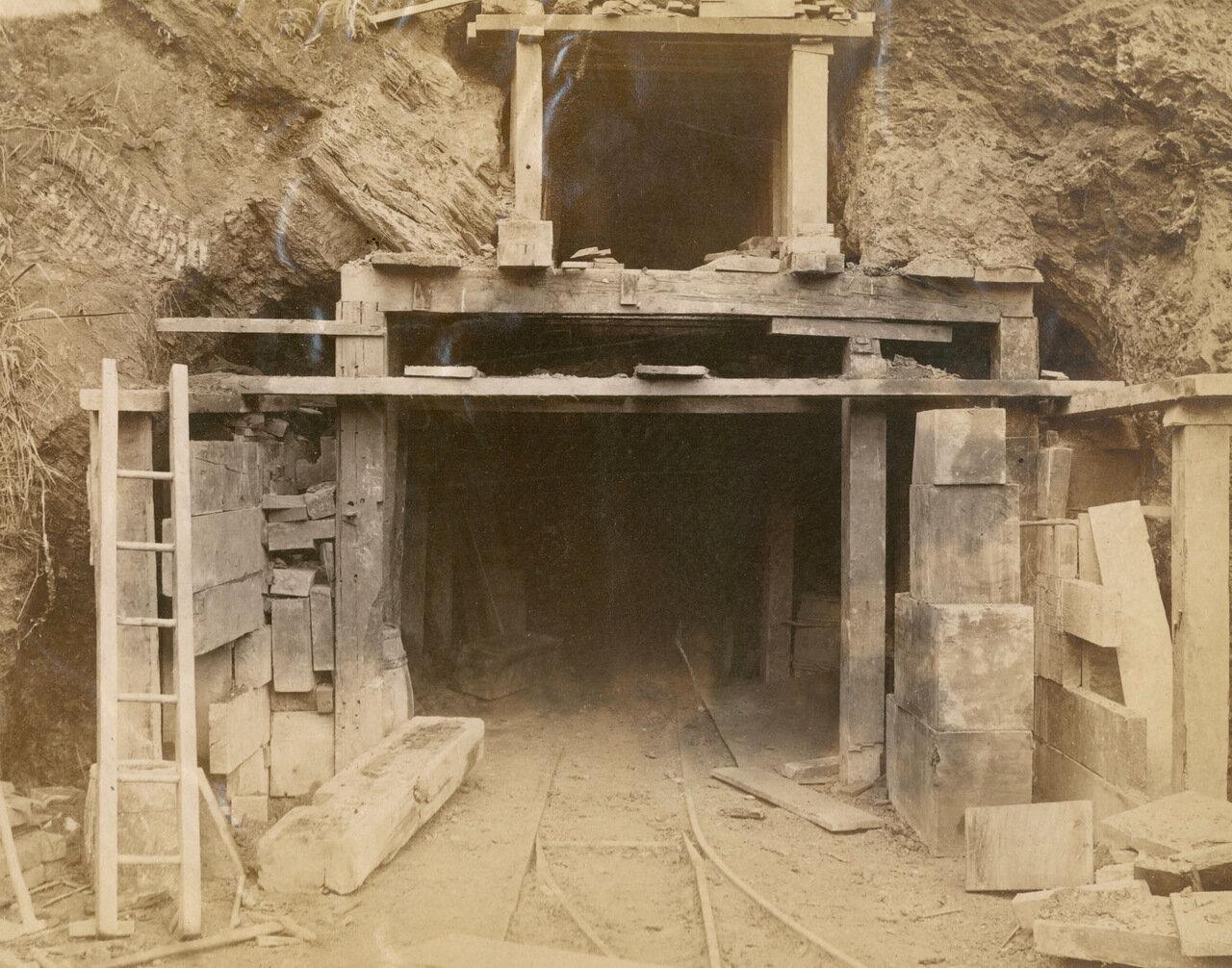 Вход в шахты, 17 апреля 1894 года.