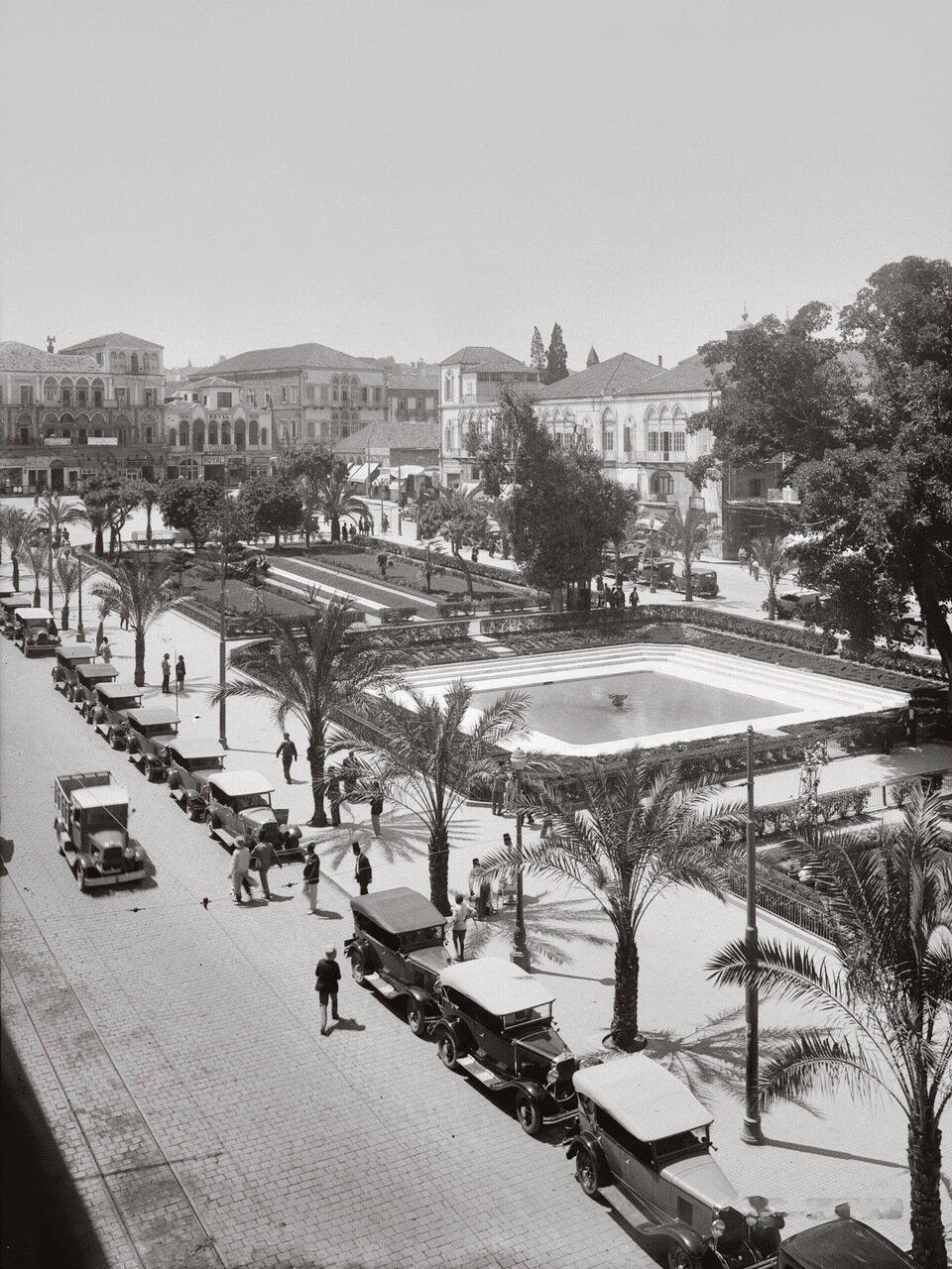 Общественный сад. Бейрут, Ливан. 1900-1920 гг.