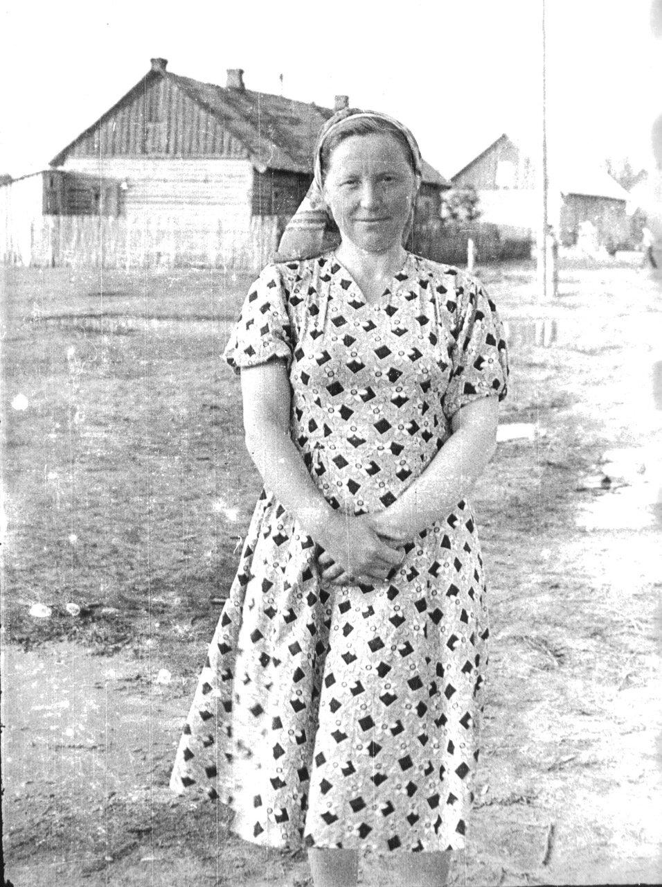 Бараки в селе Костино. 60-е годы прошлого века.