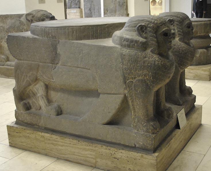 Хеттские сфинксы, Пергамон, Берлин