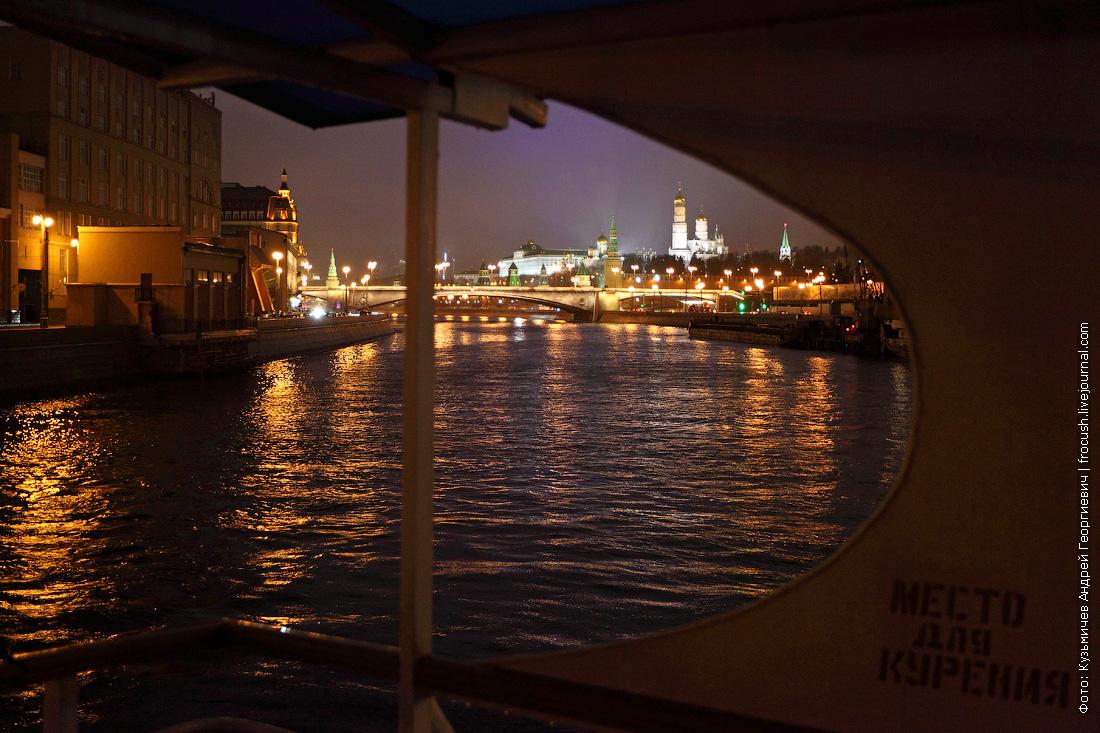 открытие прогулочной навигации ночное фото