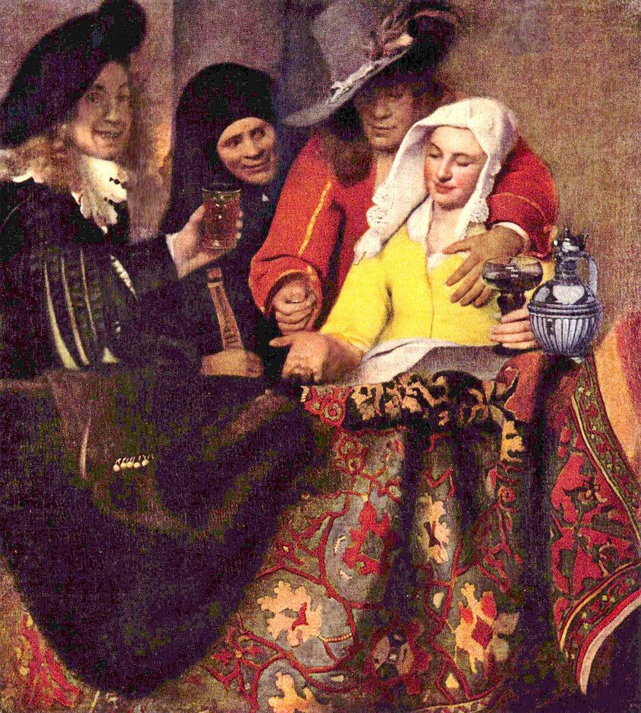 Вермер, Сводня. 1656г.