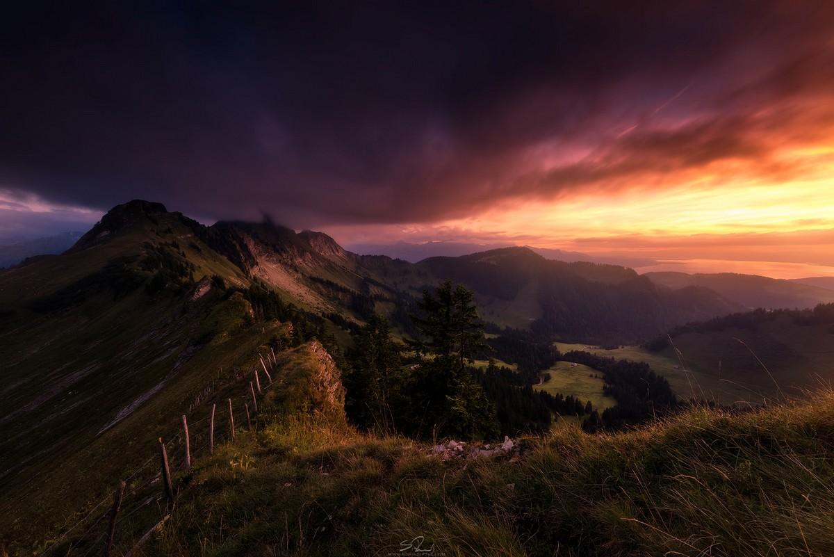Мрачные, но красивые пейзажи Саймона Роппеля