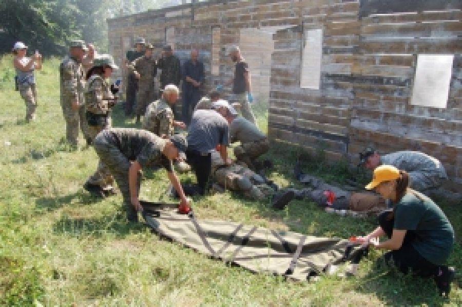 Обучение с тактической медицины на Дніпровщині