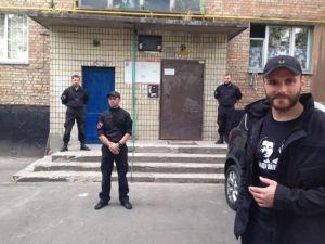 """Движение Солидарность и """"ПС"""" установили мемориальную доску на месте убийства Бузины"""