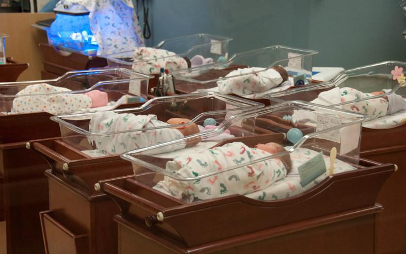 Плач новорожденных зависит от языка мамы