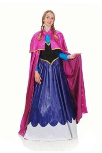 Женский карнавальный костюм Анна из из Холодного сердца