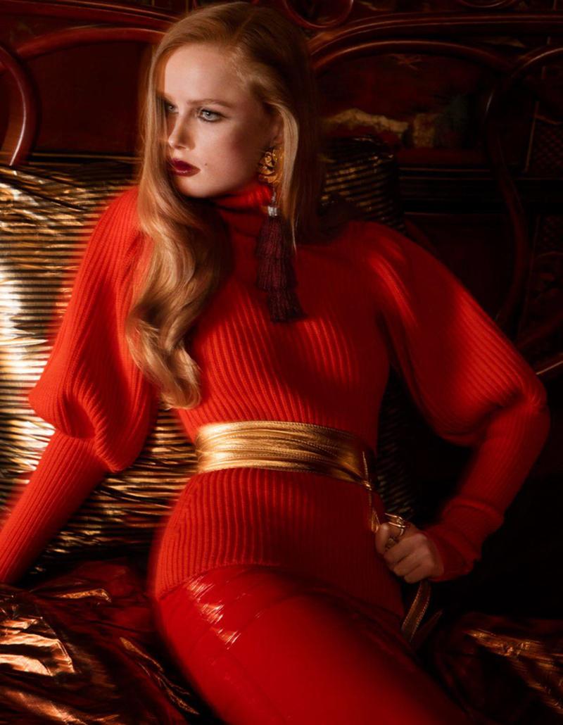 Rianne Van Rompaey & Georgia Fowler by Inez & Vinoodh for Vogue Paris August 2016