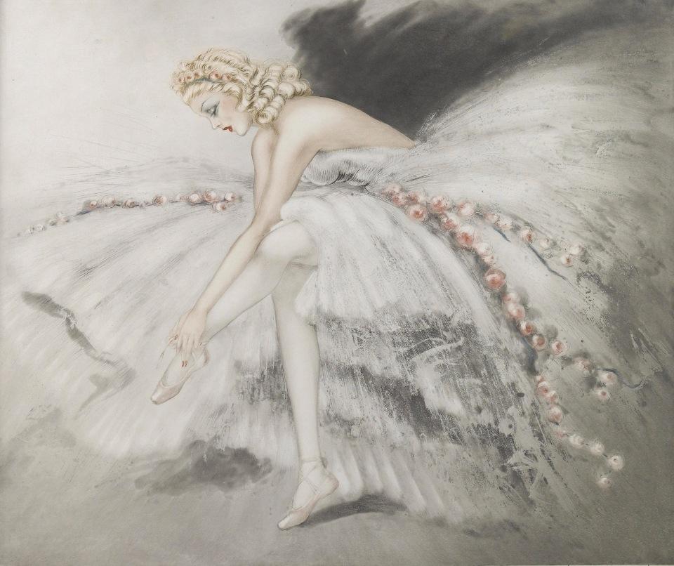 Красавицы художника Louis Icart