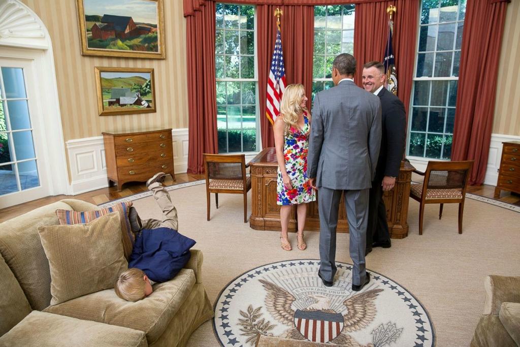 «Придворный фотограф» Пит Соуза: два миллиона фотографий Барака Обамы