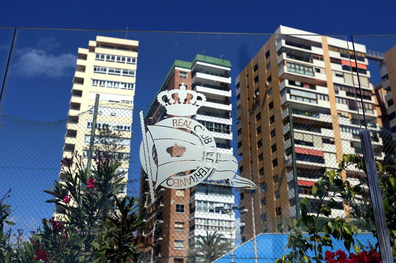 Малага. Приморская аллея Пабло Пикассо (Paseo Marítimo Pablo Ruiz Picasso)