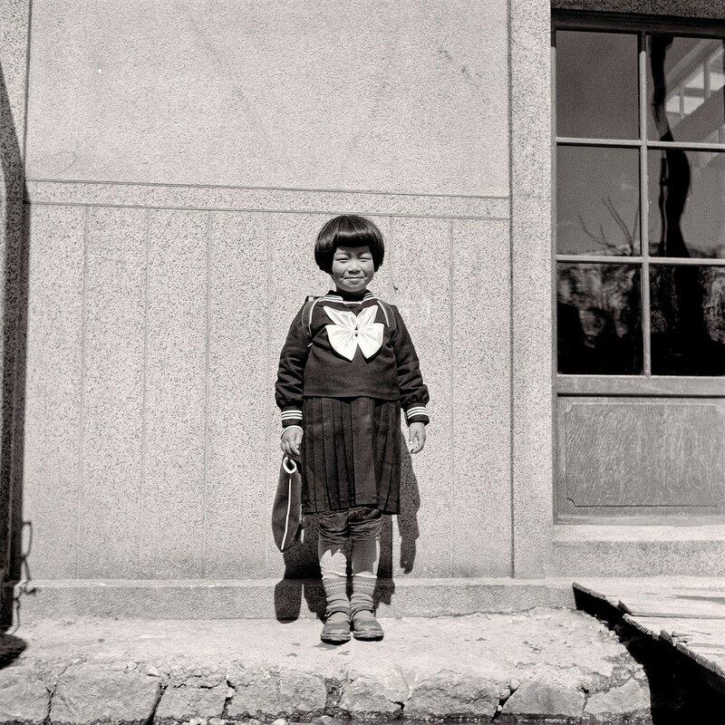 Japanese Schoolgirl 1955