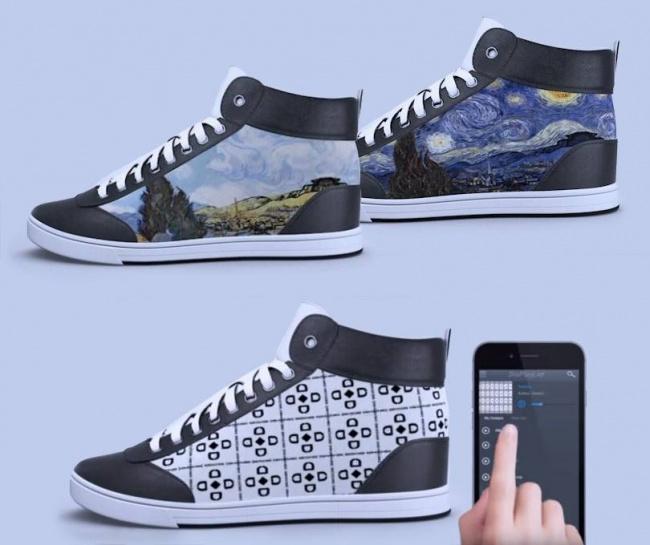 © shiftwear  Хотите себе много пар кроссовок сразличным дизайном накаждый день, нонет денег