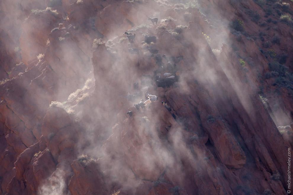 Исследуя Сказку — ущелье, расположенное на южном побережье озера Иссык-Куль. Ущелье сформирован