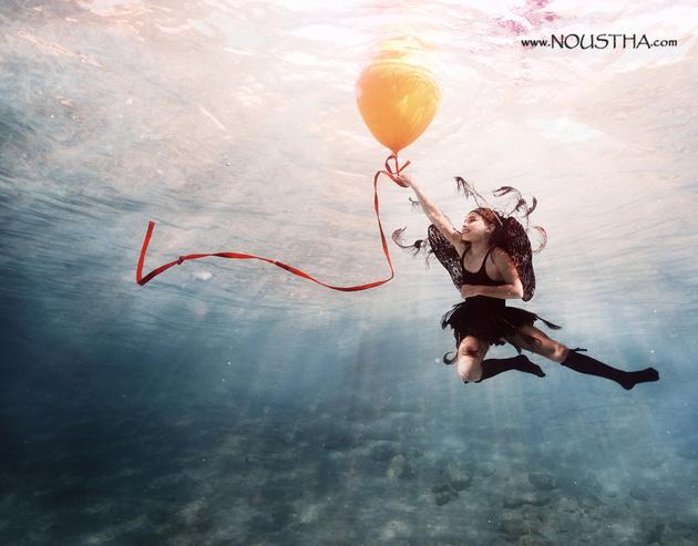 Дети под водой… Сказочный фотопроект Нутша Коековен (Noustha Koeckhoven)
