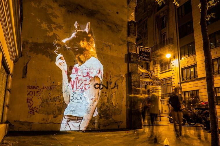 Городское сафари на парижских улицах