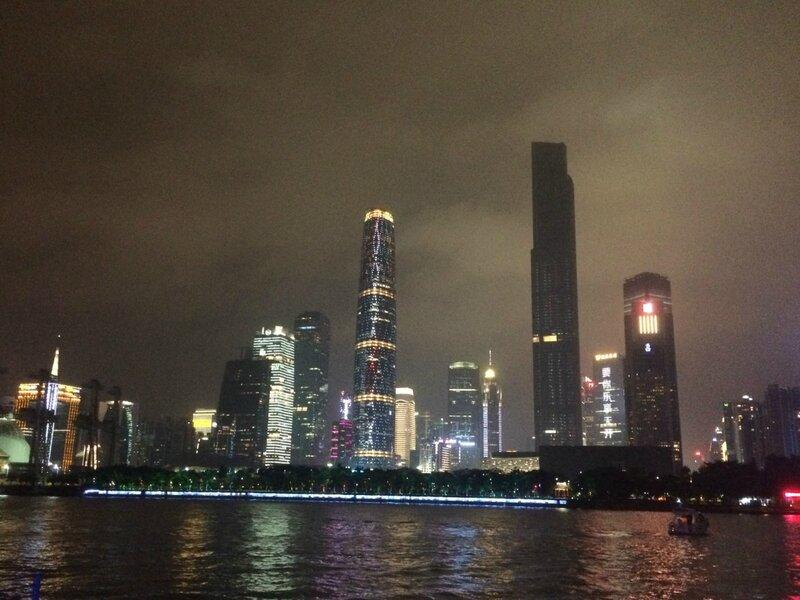 из гонконга в гуанчжоу города