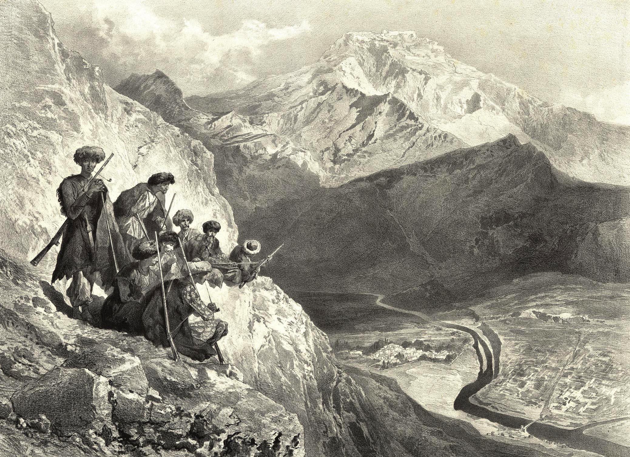 68. Daghestan. Montagne de Tilitle, village de Holotle / Дагестан. Тилитлинская гора, село Гоготля