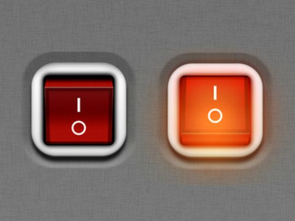 Что означают символы на кнопке питания