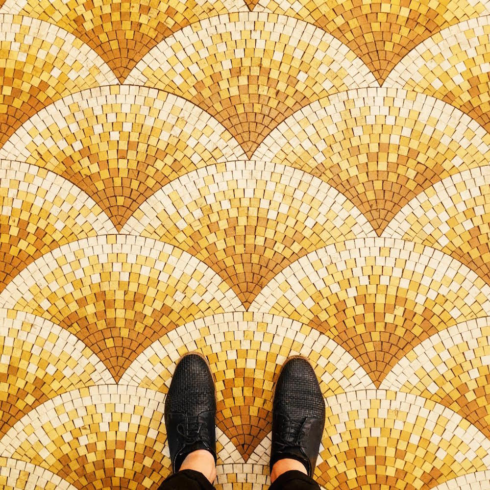 The Ornate Mosaics and Colorful Tiles of Parisian Floors Shared Through Photographer Sebastian Erras' Instagram Account